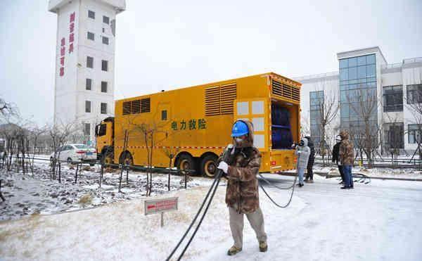 电力人风雪中守望线路